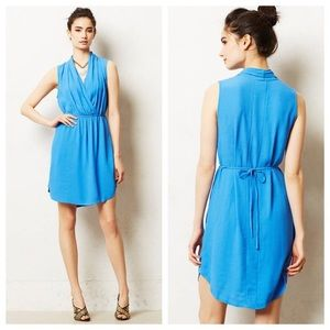 Anthropologie Maeve Dress size Small Blue